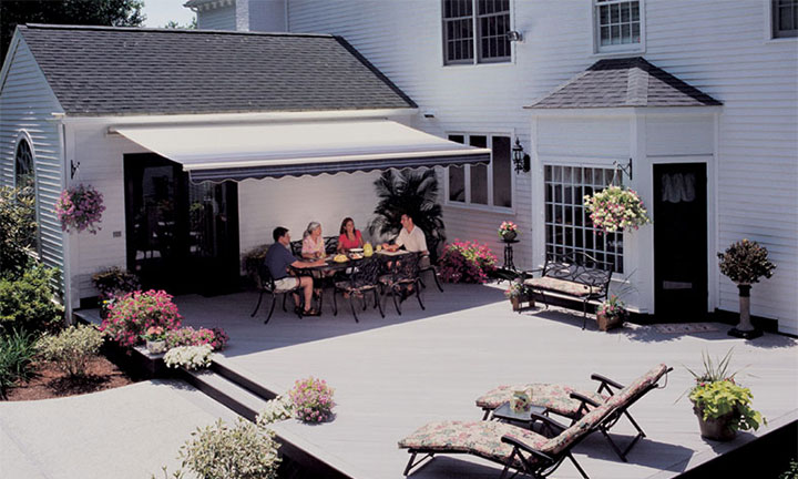 Sunsetter Motorized Pro & XL Awnings