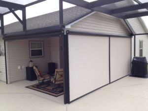 Sunesta Retractable Screen, Installed By Mr Awnings