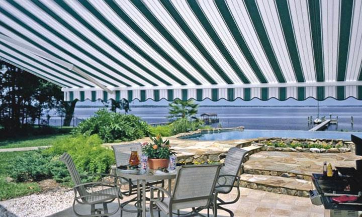 The Sunesta retractable awning by Sunesta