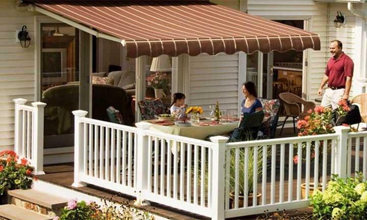SunSetter manual Vista awnings