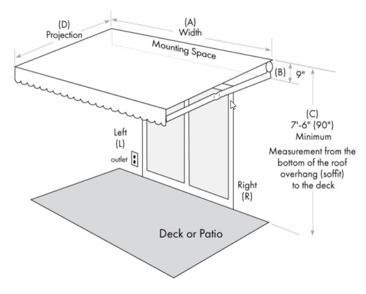 Measure Your Retractable Awning