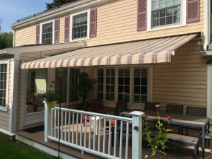 SunSetter Retractable Awning With Aluminum Hood