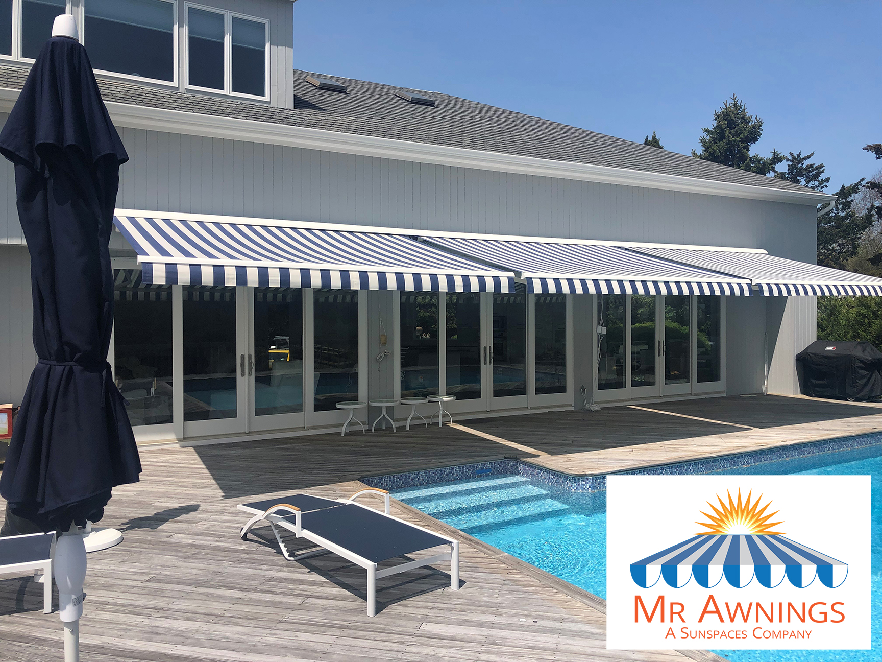 Sunesta retractable awnings from Mr Awning