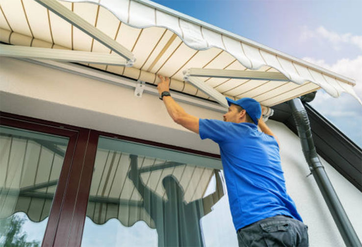 installation jobs with Mr Awnings