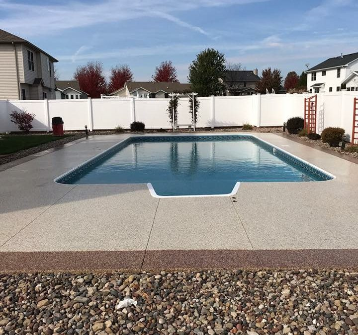 1 Day Coatings Pool Deck Coating Options