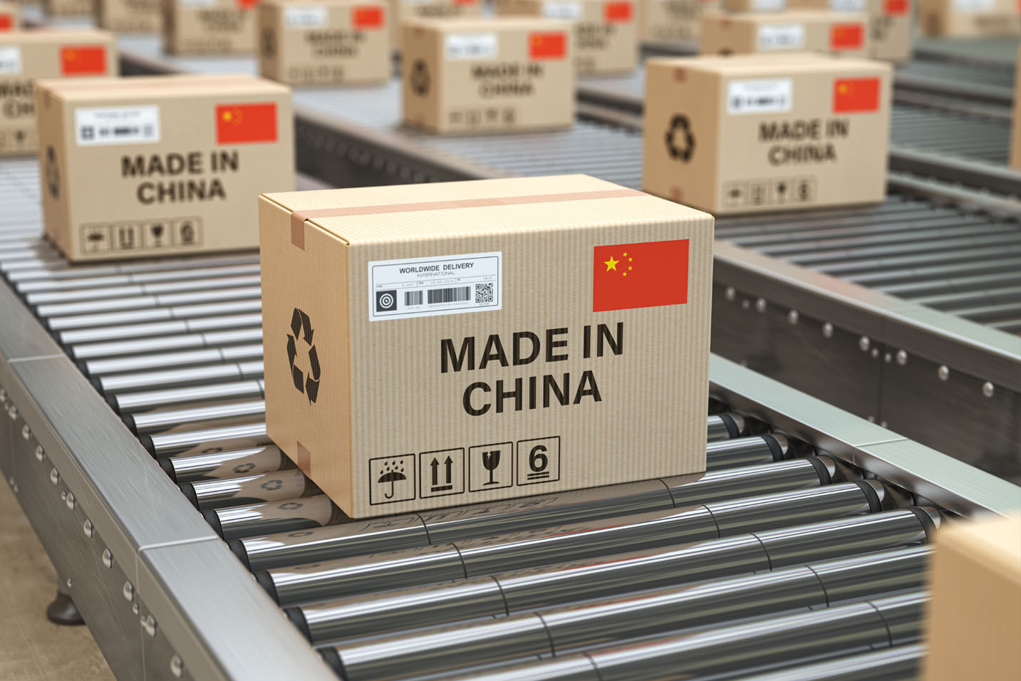 boxes from china