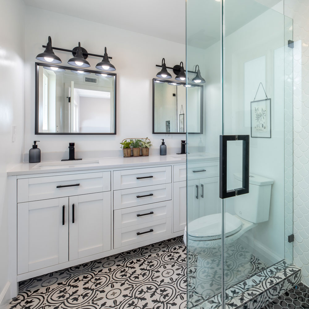 bathroom home improvements remodeling amazon agency case study success story