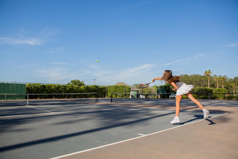 stone creek tennis court