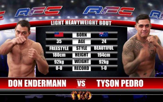 AFC 16 – Don Endermann Vs Tyson Pedro