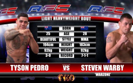 AFC 17 – Tyson Pedro Vs Steven Warby