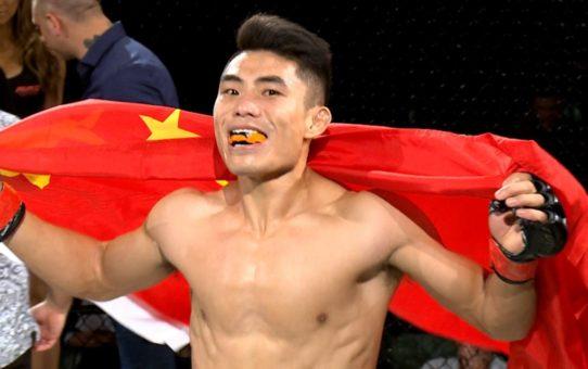 AFC 17 –  Zhu Jun Vs Harlem James Ottaway