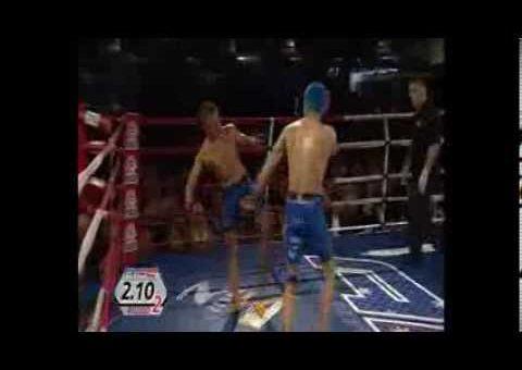 AFC7 Kara-France KO hits head on table Gustavo Falciroli