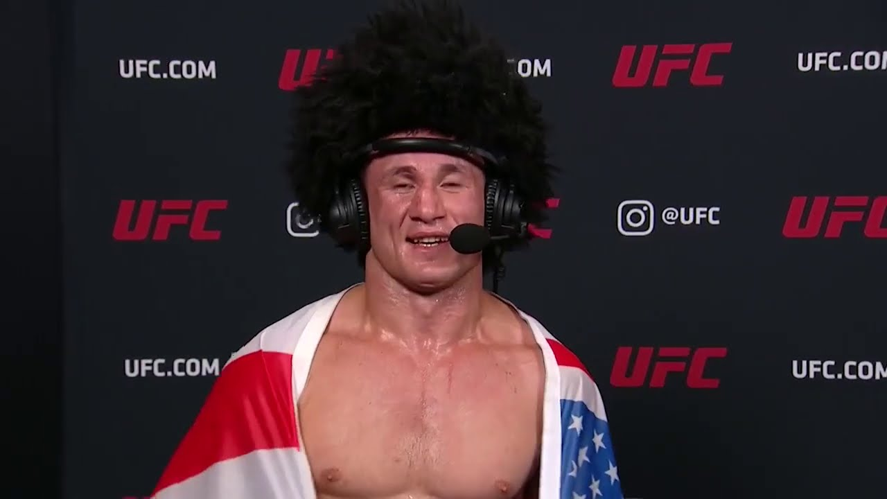 UFC 252: Merab Dvalishvili Interview after Unanimous Decision win