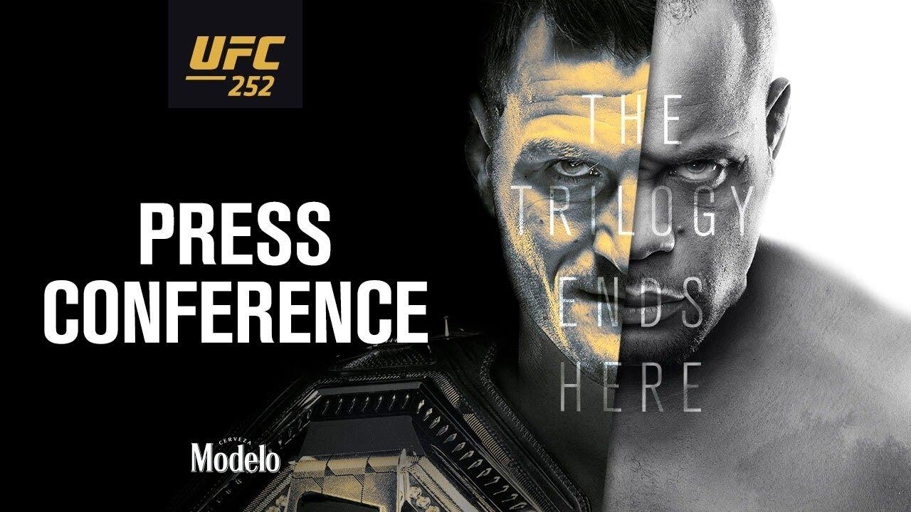 UFC 252: Press Conference
