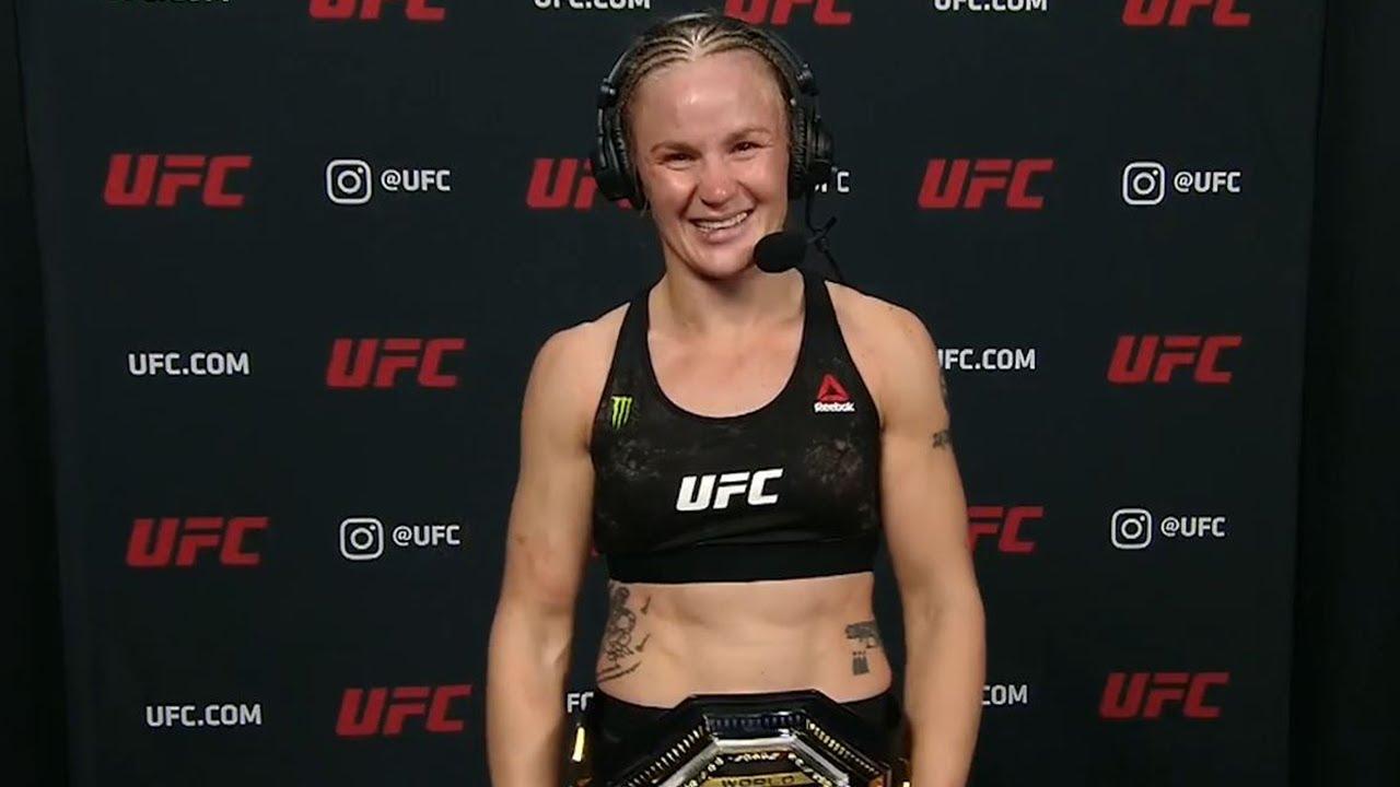 UFC 255: Valentina Shevchenko Defends Flyweight Title | Post-fight Interview