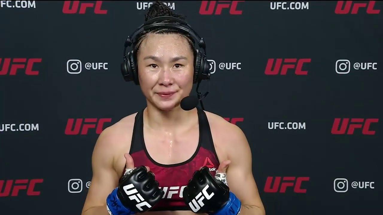 UFC Vegas 13: Yan Xiaonan Interview after Unanimous Decision Win