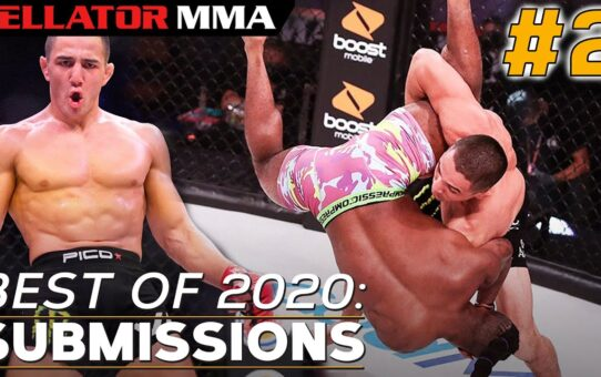Best of 2020: Top Submissions #2   Bellator MMA