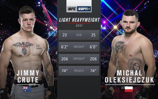 Free Fight: Jimmy Crute vs Michał Oleksiejczuk