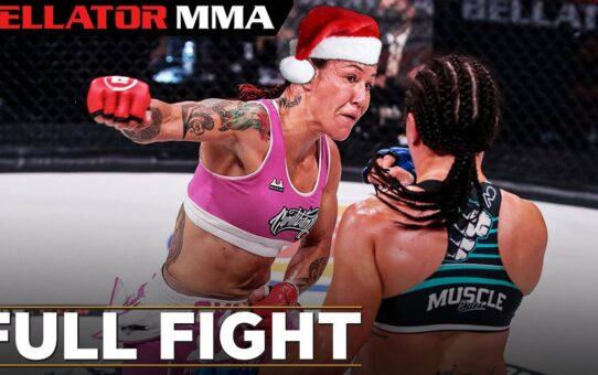 FULL FIGHT CHRISTMAS: Cris Cyborg vs Arlene Blencowe   Bellator MMA 249