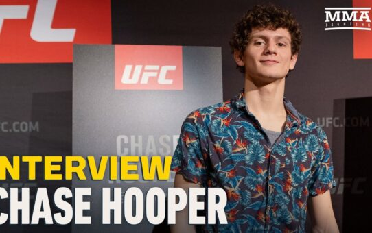 Chase Hooper Admits 'It Was Brutal' Listening To Joe Rogan and Daniel Cormier's UFC 256 Commentary