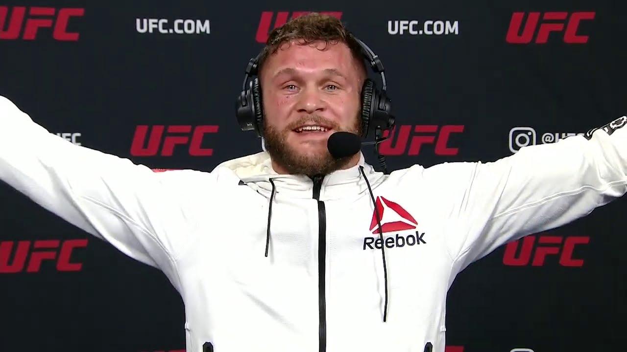 UFC 256: Rafael Fiziev Post-fight Interview