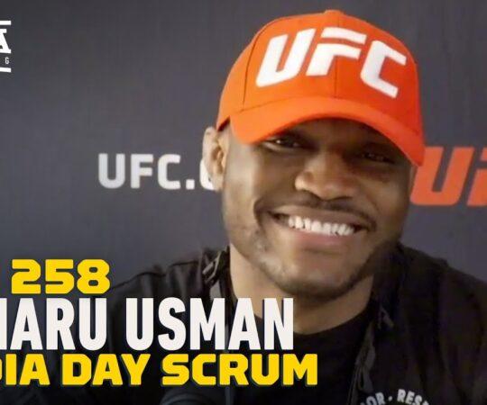 UFC 258: Kamaru Usman: Gilbert Burns Is My Toughest Test To Date – MMA Fighting