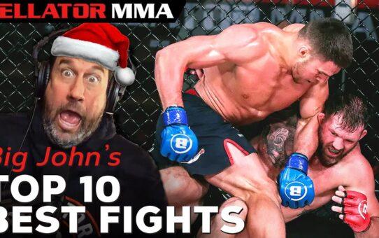Big John's TOP 10 BEST FIGHTS OF 2020   Bellator MMA