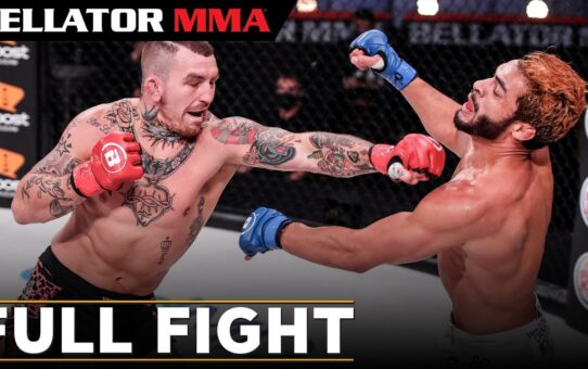 Full Fight   Austin Vanderford vs. Vinicius De Jesus   Bellator 251