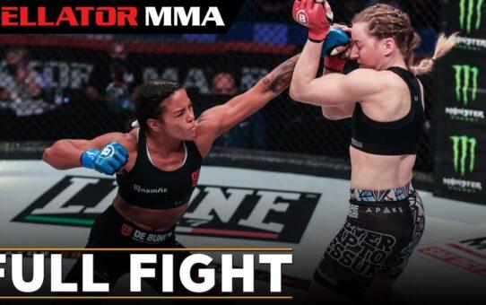 Full Fight   Denise Kielholtz vs. Kate Jackson   Bellator 247