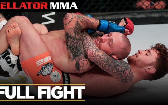 Full Fight   James Gallagher vs. Cal Ellenor – Bellator ES 9