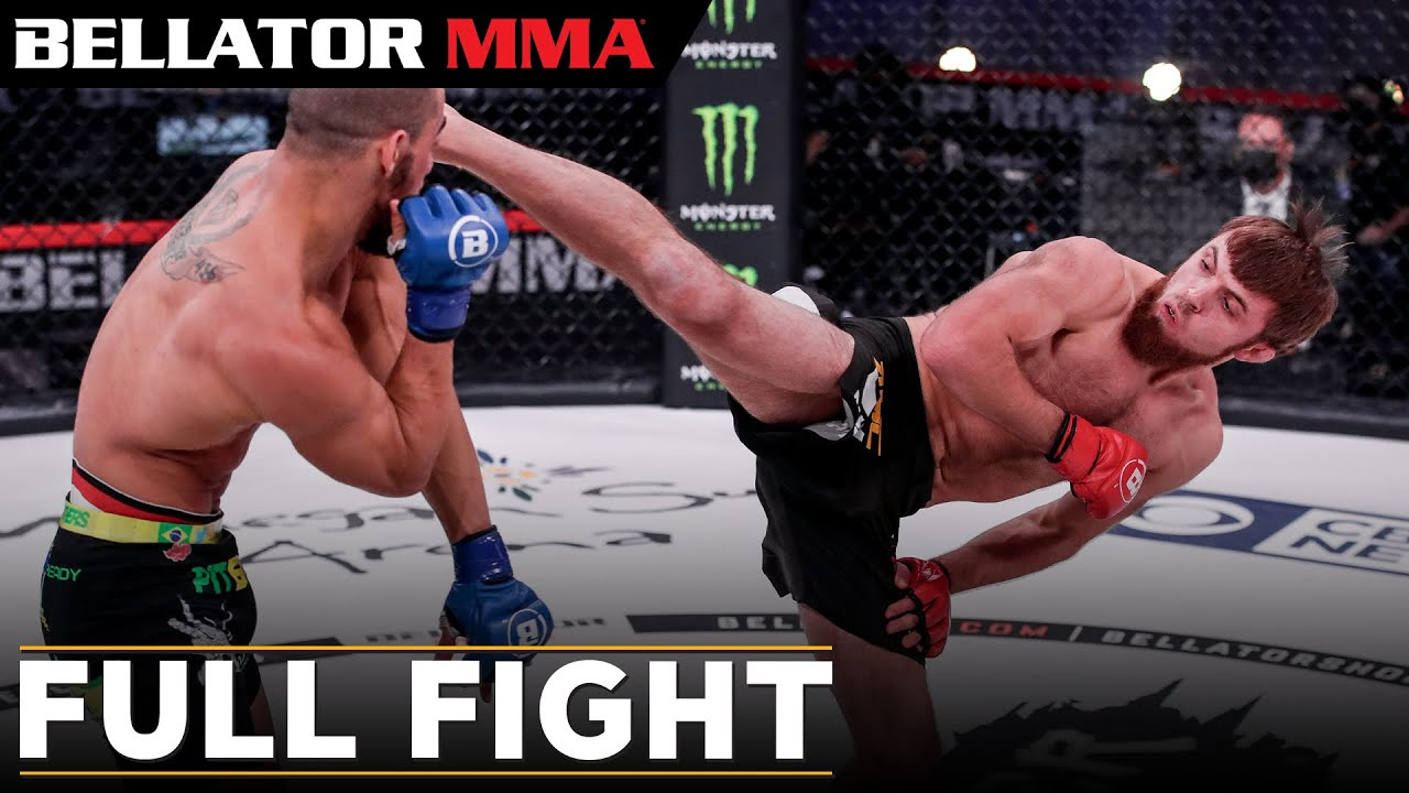 Full Fight | Magomed Magomedov vs. Matheus Mattos | Bellator 254