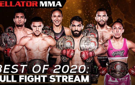 BEST OF 2020: FULL FIGHT STREAM – 🥊 New Year's Celebration 🎉   Bellator MMA