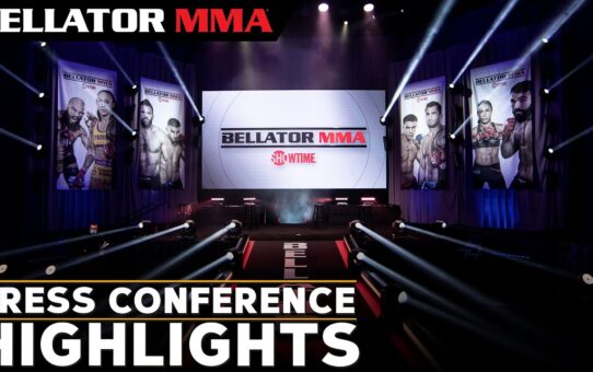 Bellator Press Conference Highlights   April Fight Announcements  Feb 9 2021