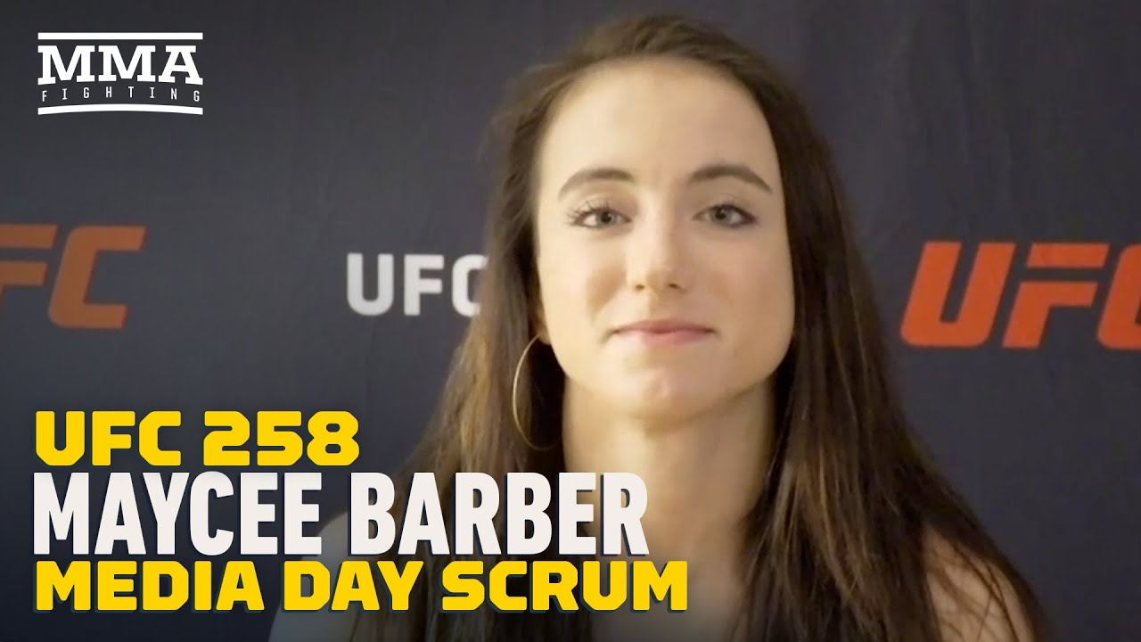 UFC 258: Maycee Barber On Stephen A. Smith/Haters: 'Most of Them Can't Throw A Punch' - MMA Fighting