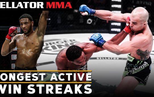 Top Active Win Streaks   Bellator MMA