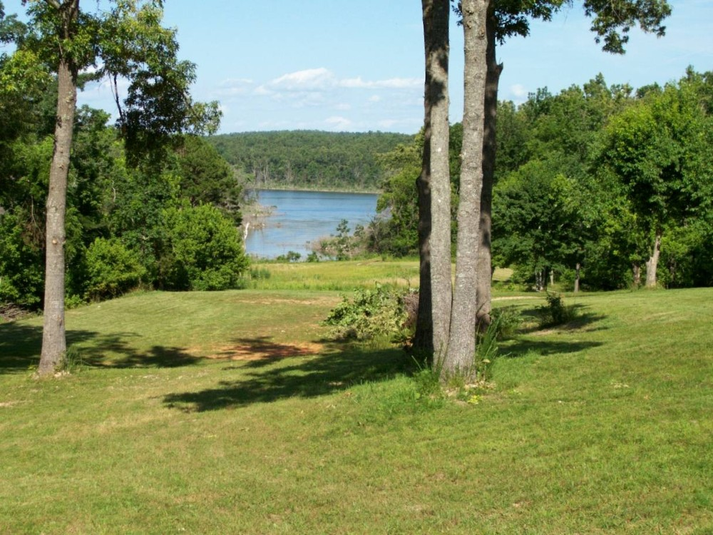 View of Norfork lake from The cove homes
