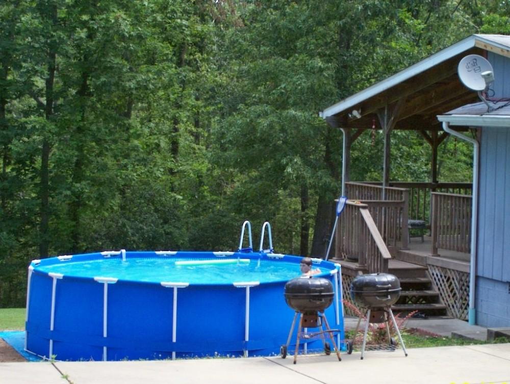 Heights lodge seasonal pool