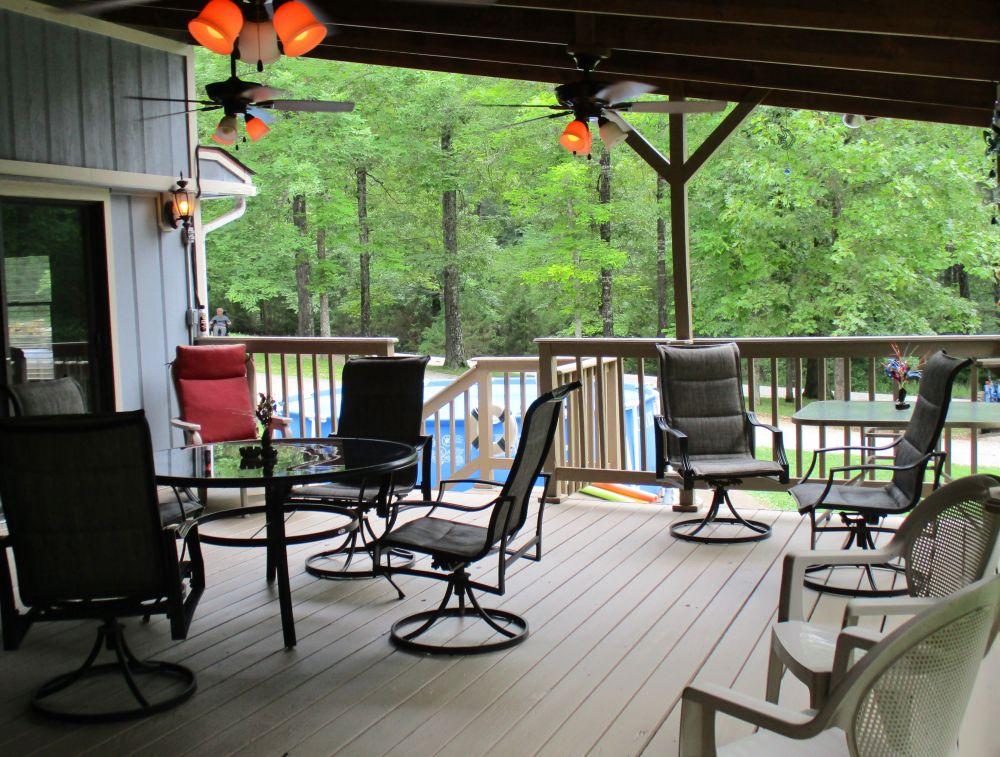 Heights Lodge deck