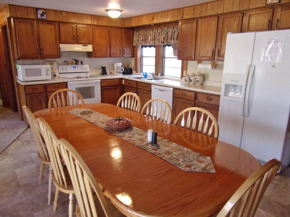 Heights lodge kitchen