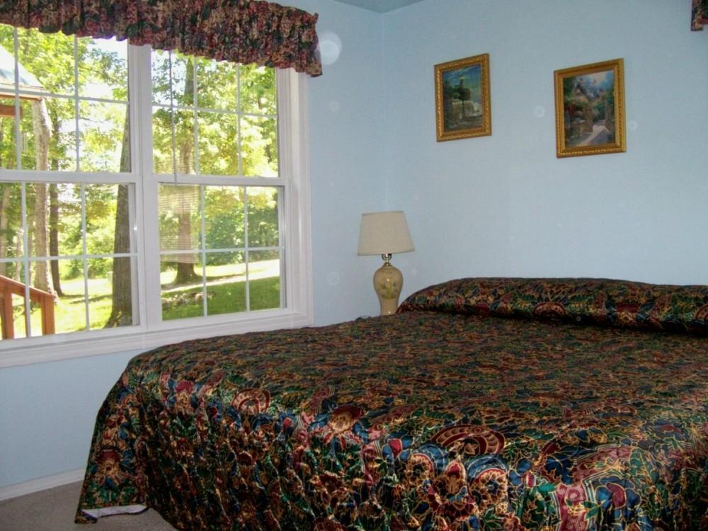 Ozark Retreat master bedroom