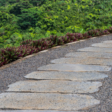 Puka Rock Pavers stone stepping stones