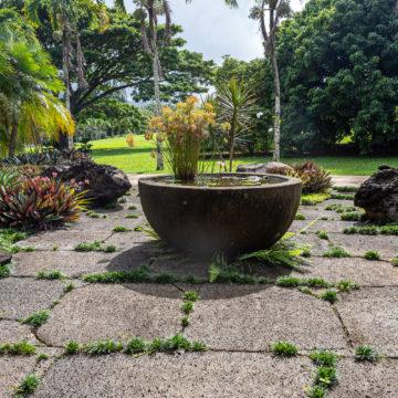 Puka Rock Pavers stone stepping stones water garden