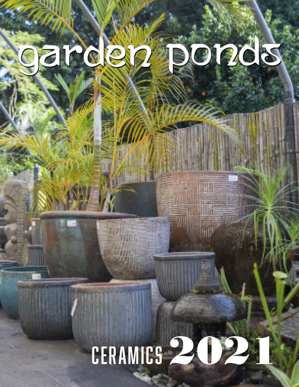 garden ponds ceramics catalog