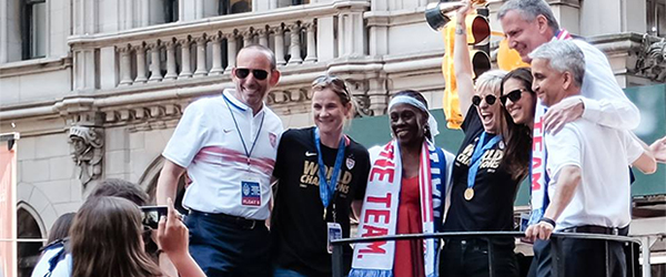 USWNT: Their Dreams Intertwined with Mine