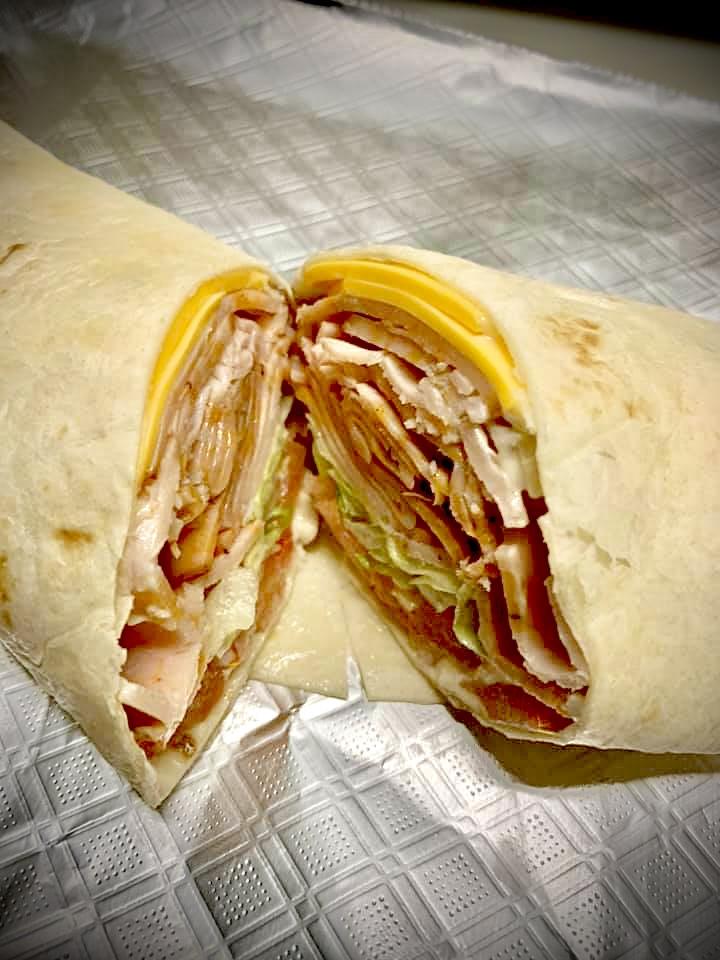 Turkey & Cheese Wrap