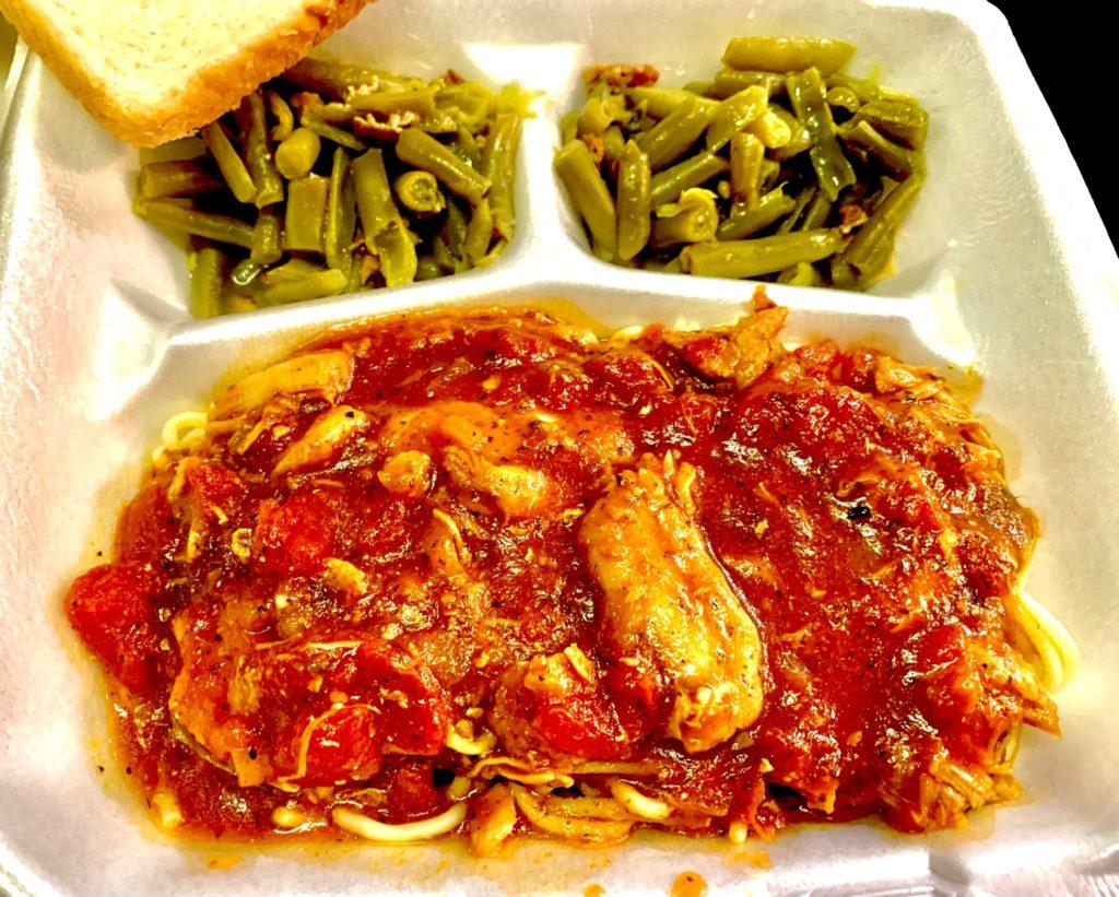 Thursday Lunch Special Chicken Spaghetti