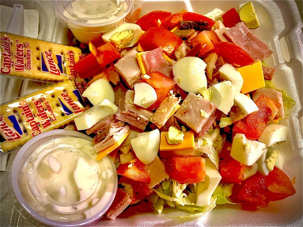 Fresh Made to order Club Salad