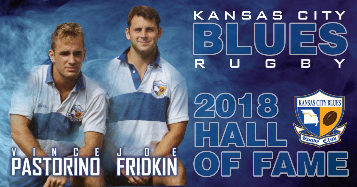 2018 Kansas City Blues Hall of Fame. Vince Pastorino and Joe Fridkin.