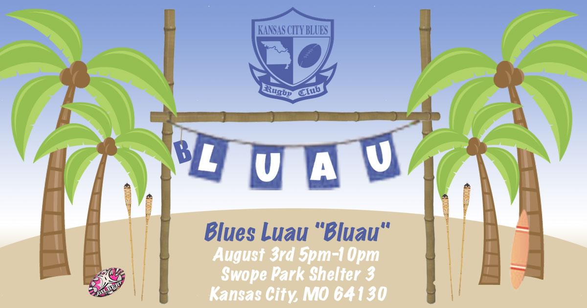 """KC Blues """"B'luau"""""""