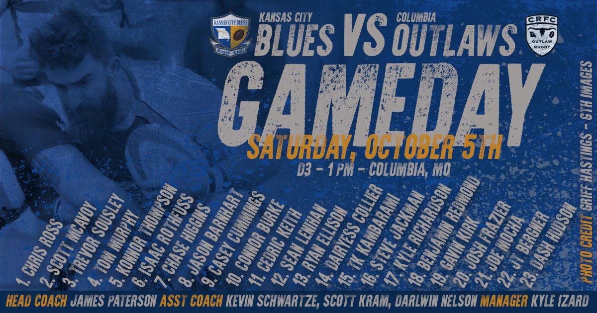 Results: Kansas City Blues vs Columbia Outlaws